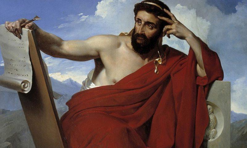 imagen de Solón de Atenas, por Merry Joseph-Blondel (1781-1853). Museo de Amiens, Francia.
