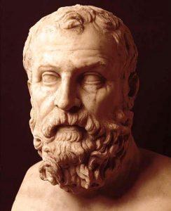 imagen de Busto de Solón de Atenas, Museo Arqueológico de Nápoles.