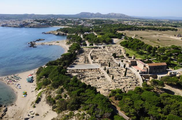 imagen de Yacimiento arqueológico de Ampurias, en Gerona