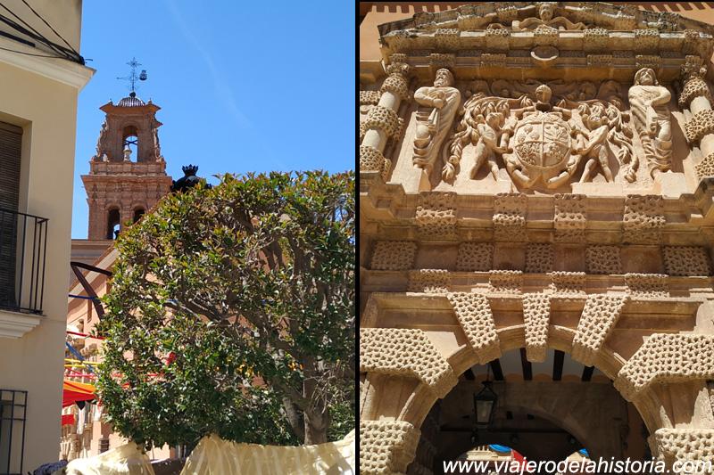 imagen de Fachada de la Casa Grande, Almansa, Albacete