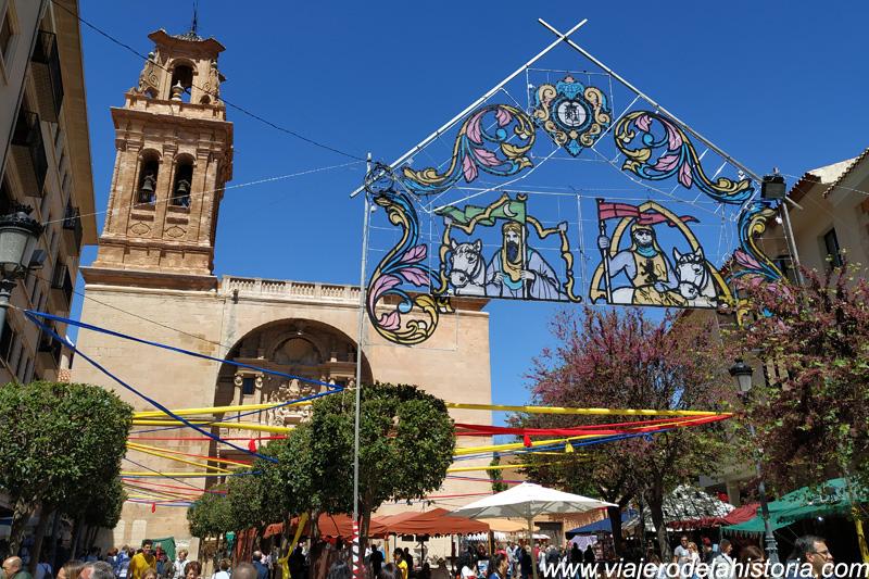 imagen de Plaza de Santa María, Almansa