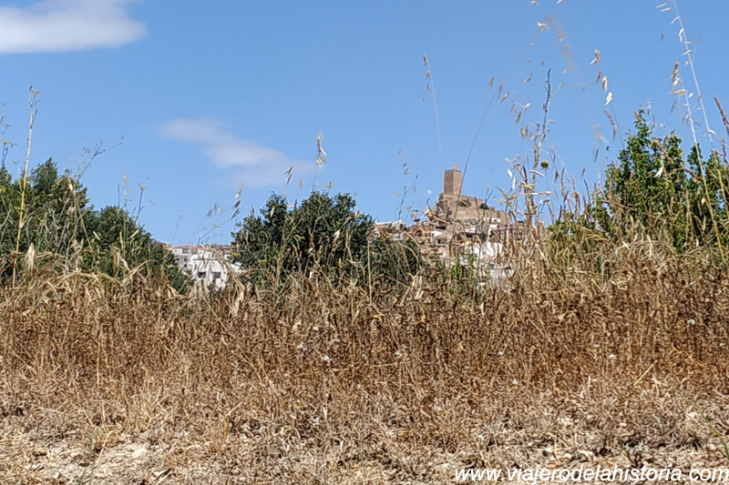 Vista del Castillo de Banyeres de Mariola