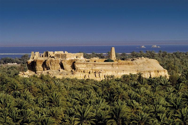 imagen de Santuario de Zeus-Amón en Siwa, Egipto