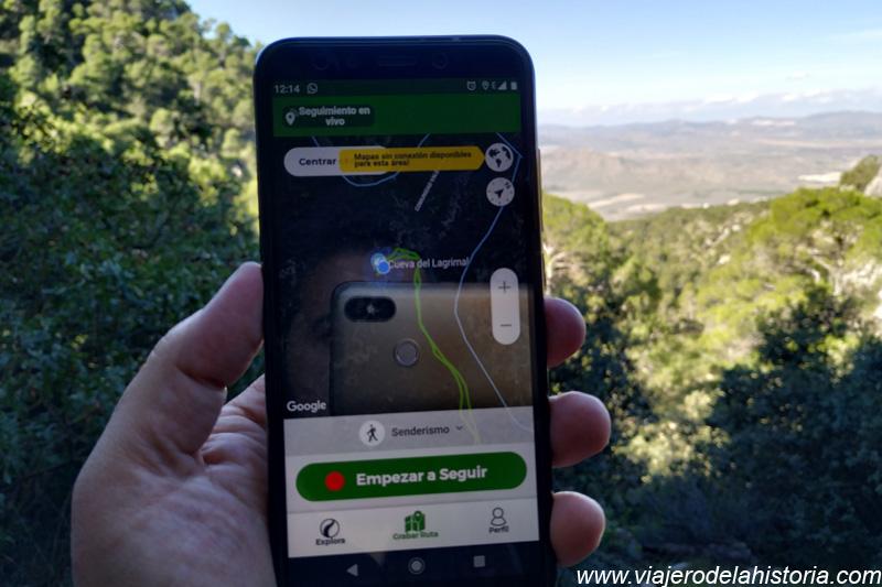 imagen de aplicaciones gratuitas senderismo Wikiloc