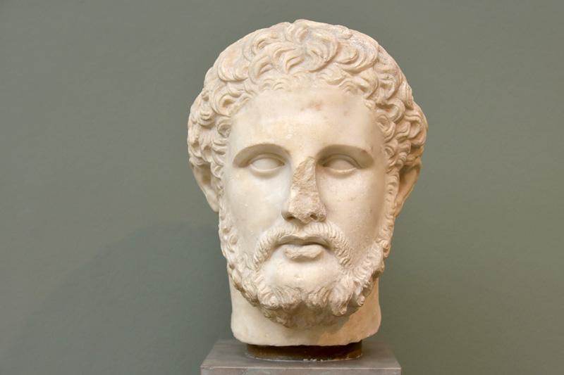 imagen de Busto de Filipo II de Macedonia