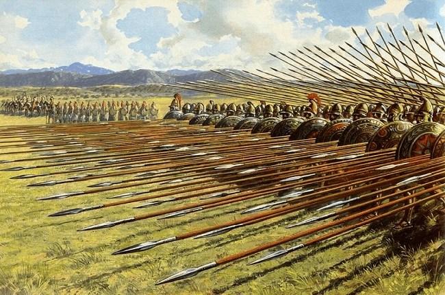 conquista de grecia
