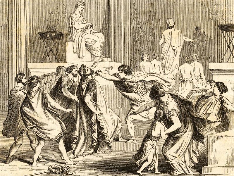 imagen de Asesinato de Filipo II