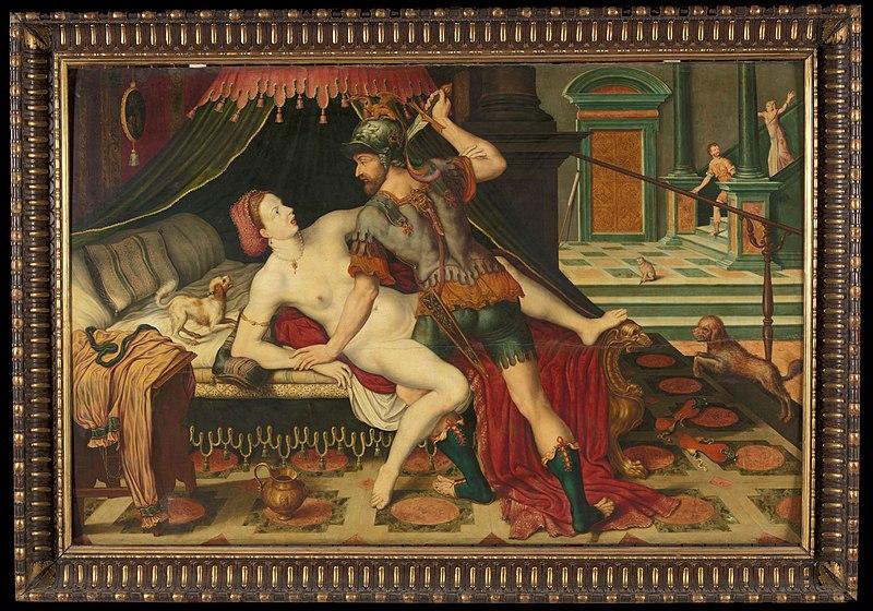 Tarquino y Lucrecia - monarquia romana