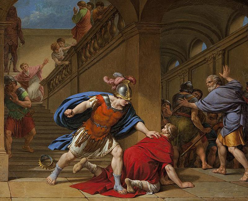 imagen de Asesinato de Servio Tulio - monarquia romana