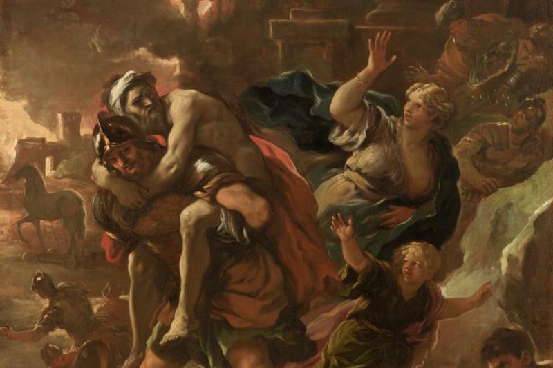 imagen de Eneas. el origen de Roma