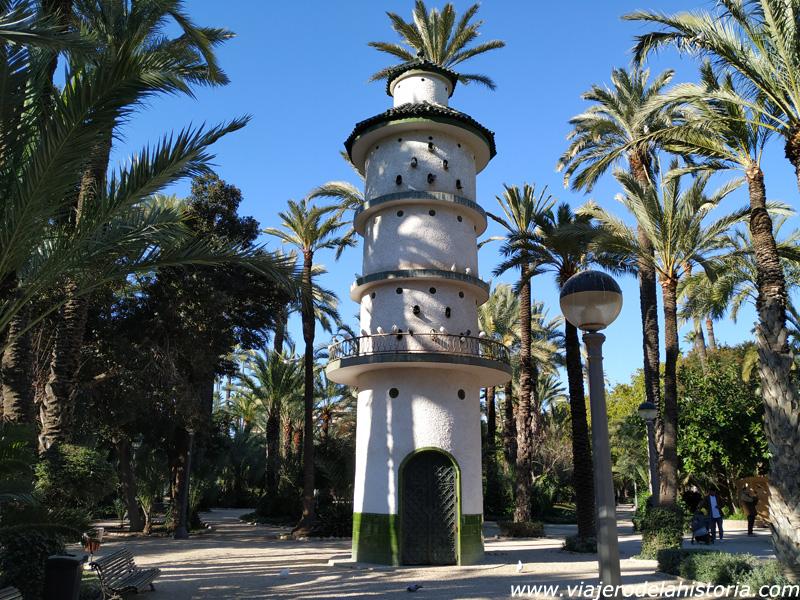 imagen de Palomar en el Parque Municipal, Elche, Alicante