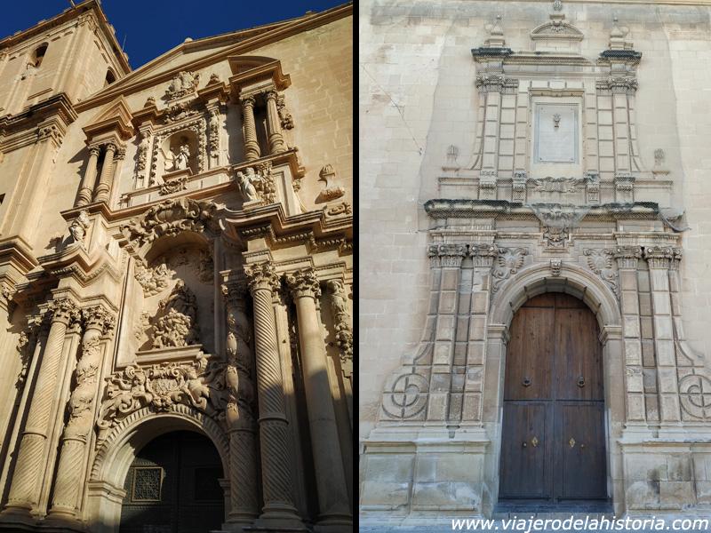 imagen de Portadas de la Basílica de Santa María, Elche, Alicante