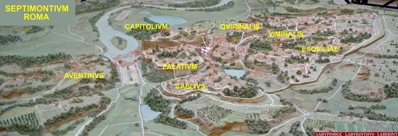 imagen de Las 7 colinas de Roma (Septimontium)