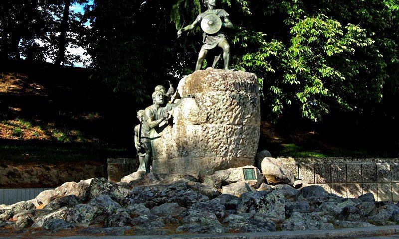 imagen de Conquista de Hispania. Estatua de Viriato en Viseu, Portugal