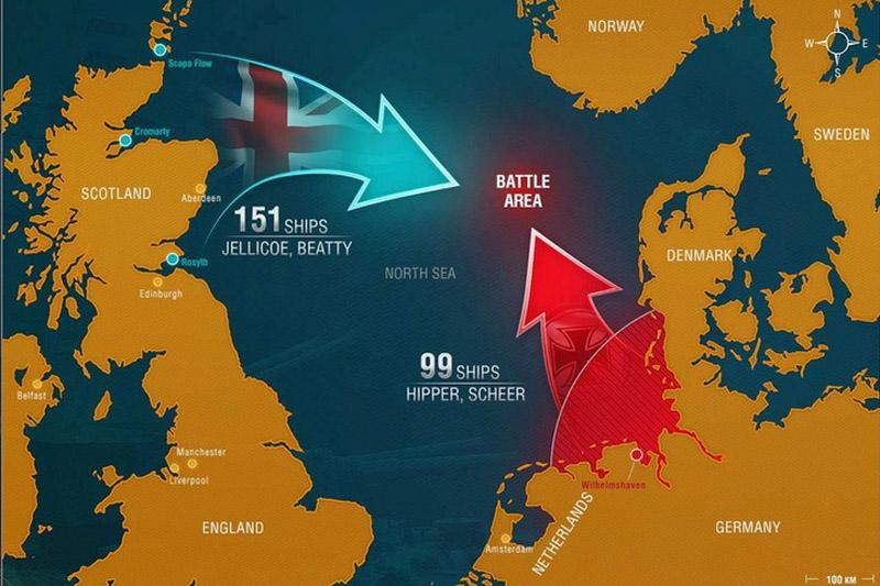 imagen de Batalla de Jutlandia