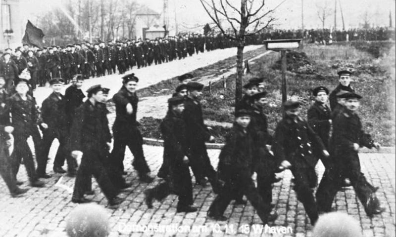 foto de Primera Guerra Mundial - Motín en Kiel (1918)