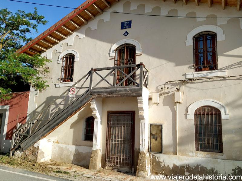 Tienda de la Colonia Santa Eulalia
