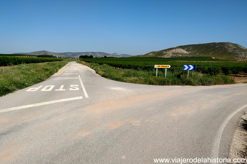 cicloturismo Villena Sax Colonia Santa Eulalia