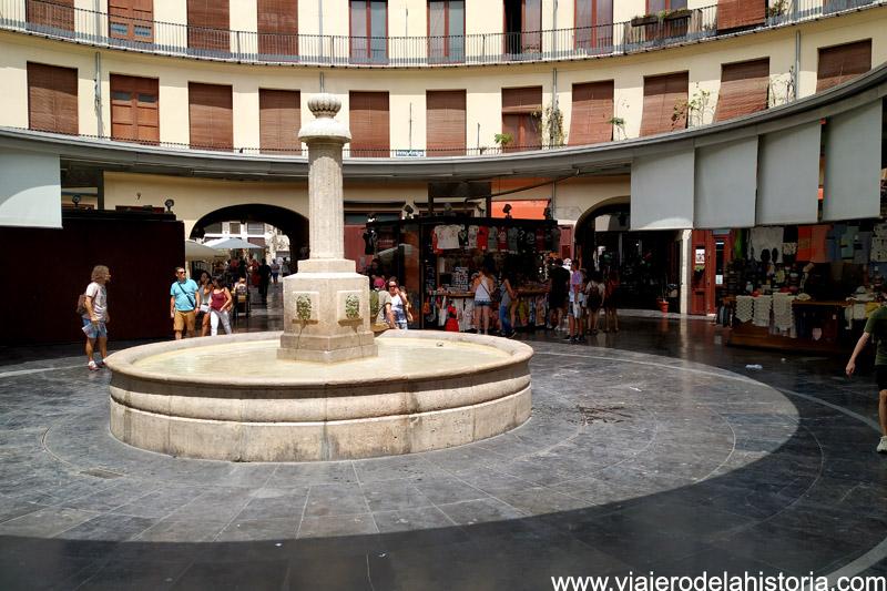 Interior de la Plaça Redona (Plaza Redonda), Valencia