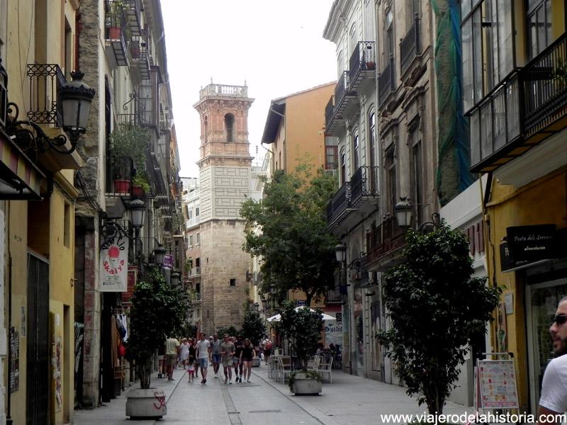 Calle de Serranos, Valencia