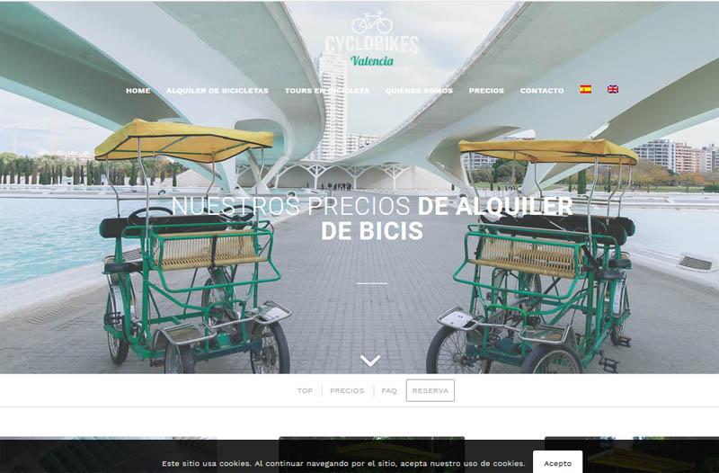 Cyclo bikes - cicloturismo Valencia
