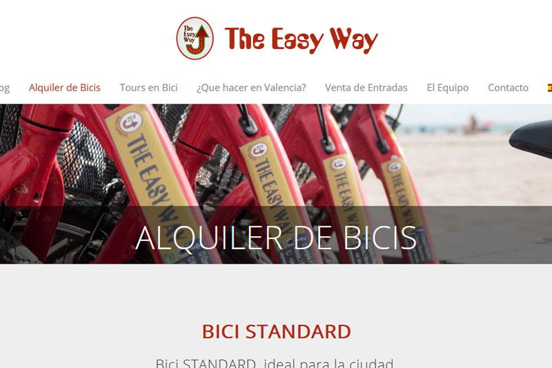 Alquiler bicicletas en Valencia - The Easy Way