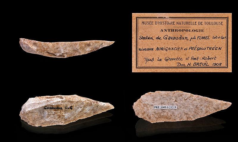 Paleolítico Superior: Auriñaciense