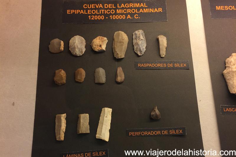 Epipaleolítico Microlaminar Museo de Villena