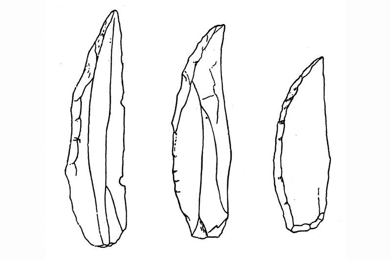 Paleolítico Superior: Puntas de Chatelperron