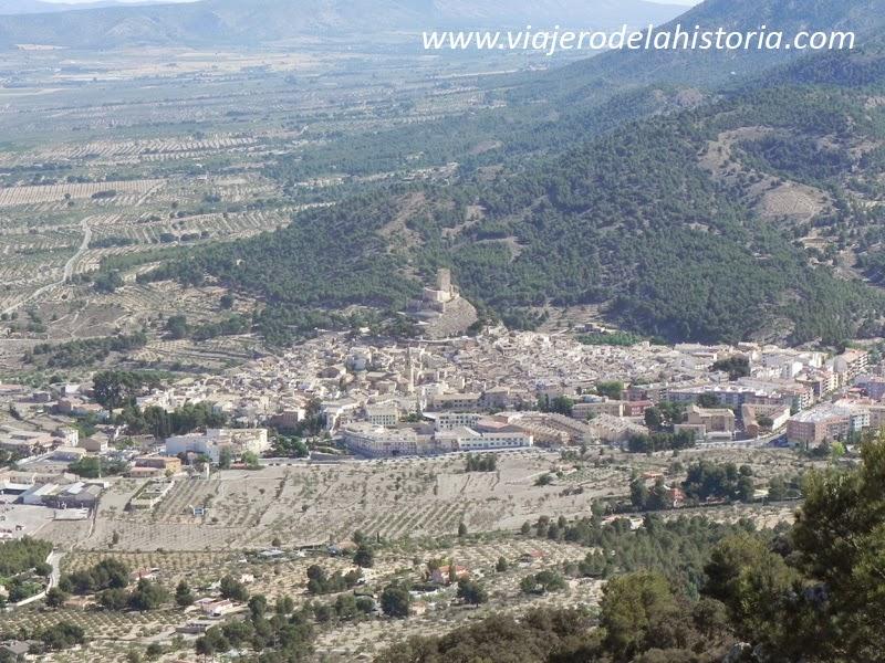Imagen vistas de Biar desde la Sierra del Frare, Alicante