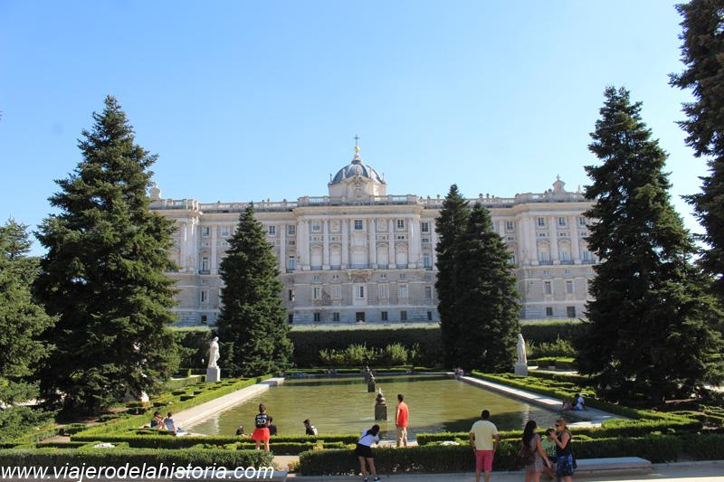 Imagen de Jardines de Sabatini, Madrid