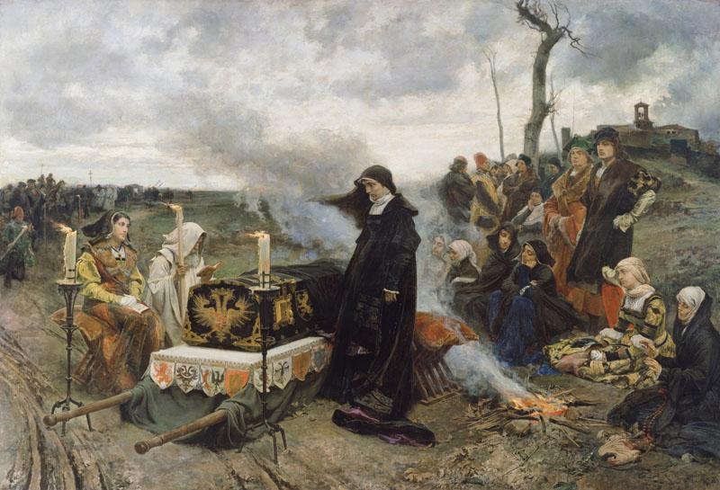imagen de doña Juana la Loca, Museo del Prado, Madrid