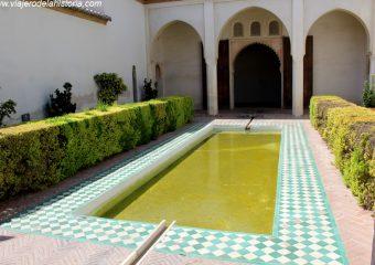 imagen de Patio de la Alberca en la Alcazaba de Málaga