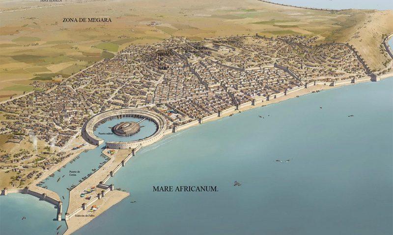 Recreación de Cartago