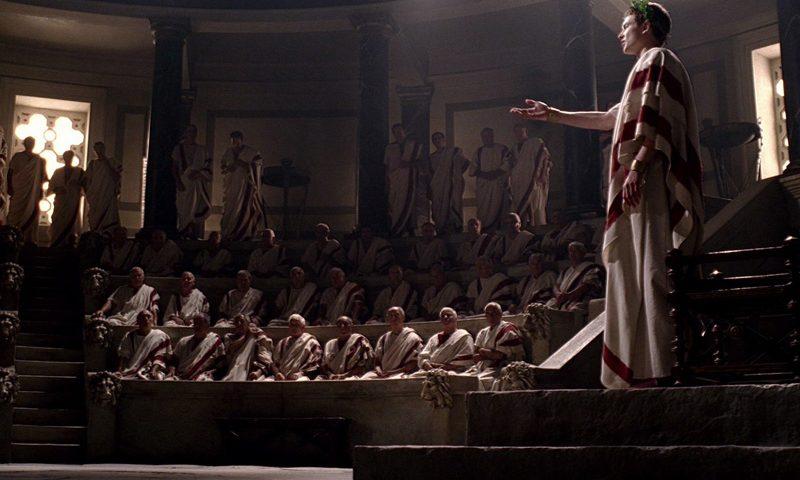 imagen de república romana - senado romano