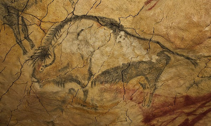 Paleolítico Superior: bisonte magdaleniense de la Cueva de Altamira
